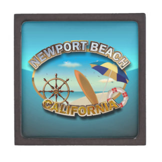 Newport-Strand, Kalifornien Schachtel