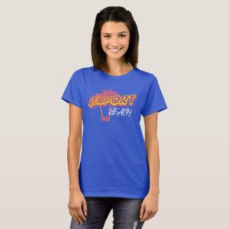 Newport-Strand-Neon-Rosa T-Shirt
