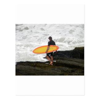 Newport-Surfer Postkarte