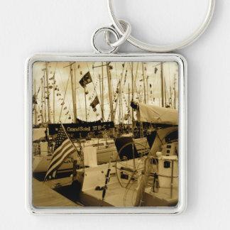 Newport zu BermudaRegatta Schlüsselanhänger