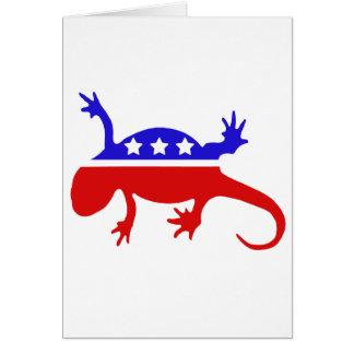 Newt Gingrich für Präsidenten Karte