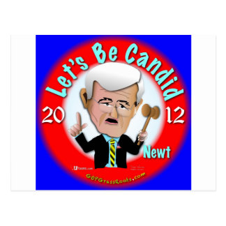 Newt Gingrich Postkarte