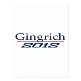 Newt Gingrich (v100) Postkarte