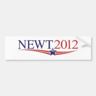 Newt GingrichAutoaufkleber 2012 Autoaufkleber