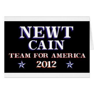 NEWT KAIN - Team für Amerika 2012 Karte