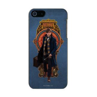 NEWT SCAMANDER™ gehende Kunst Nouveau Platte Incipio Feather® Shine iPhone 5 Hülle