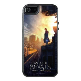 NEWT SCAMANDER™ in zerstörtem Gebäude OtterBox iPhone 5/5s/SE Hülle