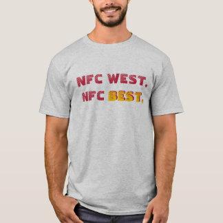 NFC West-NFC am besten (Kardinäle) T-Shirt