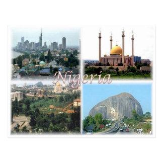 NG Nigeria - Postkarte