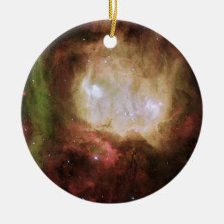 NGC 2080 der Geist-Kopf-Nebelfleck Keramik Ornament