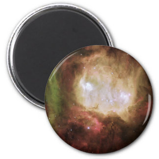NGC 2080 der Geist-Kopf-Nebelfleck Runder Magnet 5,7 Cm
