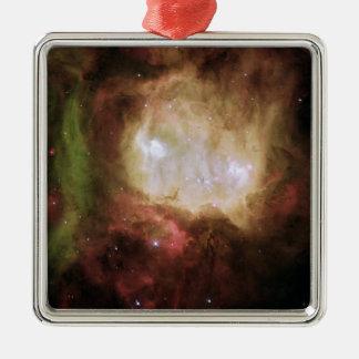 NGC 2080 der Geist-Kopf-Nebelfleck Silbernes Ornament