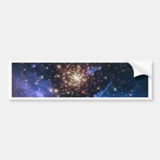 NGC 3603 die SuperSternhaufen NASA Autoaufkleber