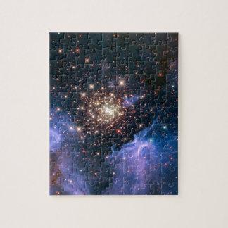 NGC 3603 die SuperSternhaufen NASA Puzzle