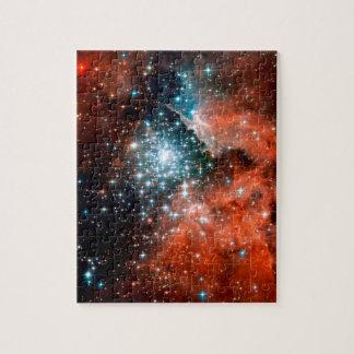 NGC 3603 Stern, der Region - Hubble Raum-Foto Puzzle