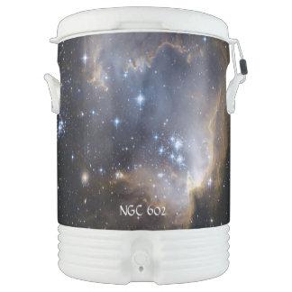 NGC 602 die helle Sterne NASA Igloo Getränke Kühlbox
