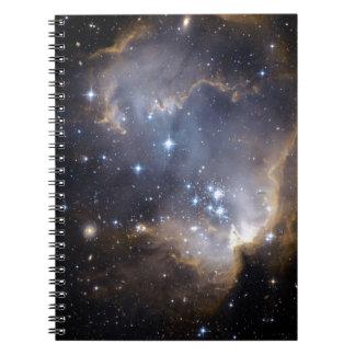 NGC 602 die helle Sterne NASA Notizblock