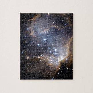 NGC 602 die helle Sterne NASA Puzzle