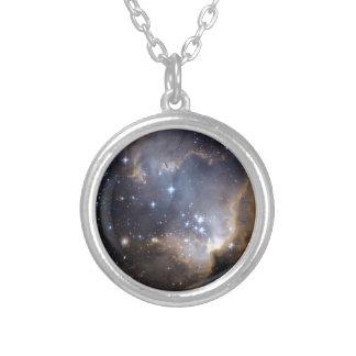 NGC 602 die helle Sterne NASA Versilberte Kette