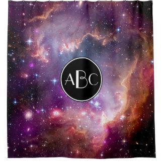 NGC 602 Sternentstehung mit kundenspezifischem Duschvorhang