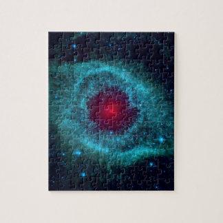NGC 7293 die Schneckennebelfleck NASA Puzzle