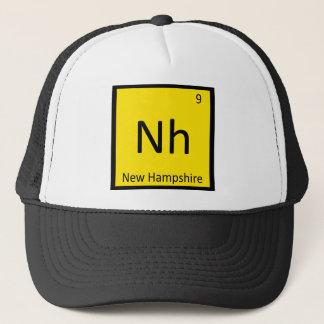 NH - New Hampshire Staats-Chemie-periodische Truckerkappe