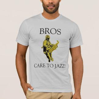 NHS JazzBros amerikanischer KleiderT - Shirt