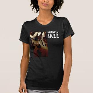 NHSs der Damen Jazz-Dunkelheits-T-Stück T-Shirt