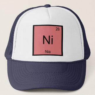 Nia Namenschemie-Element-Periodensystem Truckerkappe