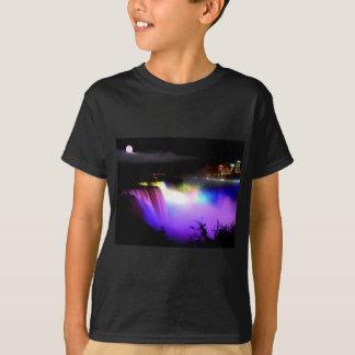 Niagara-Fall-unter-Flutlicht-an-Nacht T-Shirt