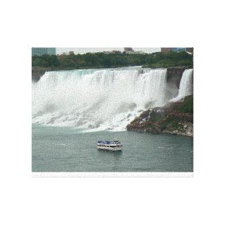 Niagara Falls auf der kanadischen Seite Leinwanddruck