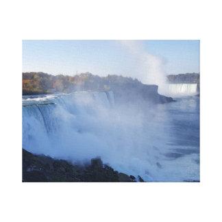 Niagara Falls dehnte Leinwand-Druck aus Leinwanddruck