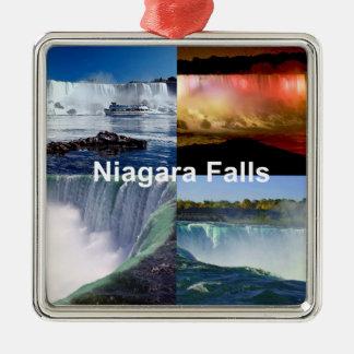 Niagara Falls New York Silbernes Ornament