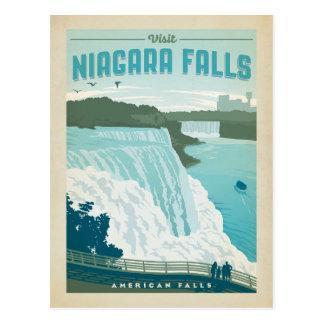 Niagara Falls, NY Postkarte