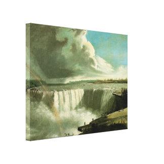 Niagara Falls vom Tabellen-Felsen durch John Leinwanddruck