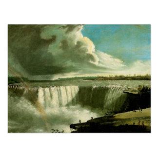 Niagara Falls vom Tabellen-Felsen Postkarte