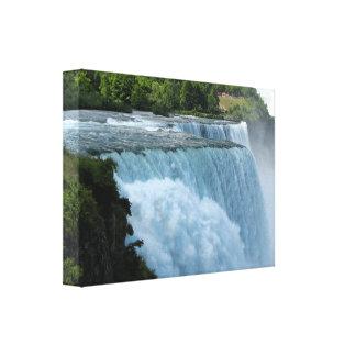 Niagara Falls wickelte Leinwand #5 ein