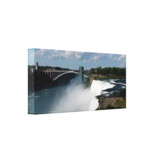 Niagara Falls wickelte Leinwand #6 ein