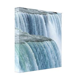 Niagara Falls wickelte Leinwand #7 ein