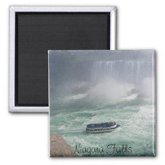 Niagara- Fallsausflug Quadratischer Magnet
