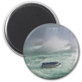 Niagara- Fallsausflug Runder Magnet 5,7 Cm