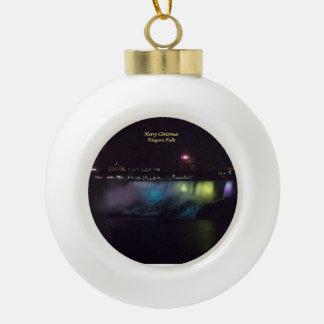 Niagara- Fallsball-Verzierung 1 Keramik Kugel-Ornament