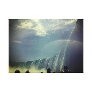 Niagara- Fallsbild-Leinwand Leinwanddruck