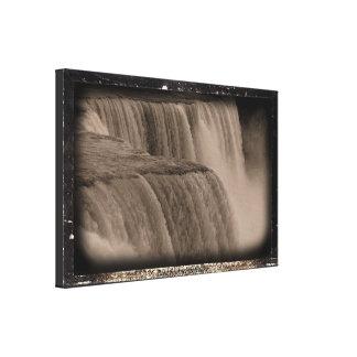 Niagara Fallsdaguerreotype-Effekt Leinwanddruck
