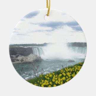 Niagara- Fallskanadier-Seite Keramik Ornament