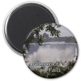 Niagara- Fallsmagnet Runder Magnet 5,7 Cm