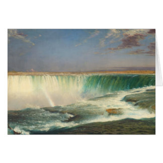 Niagara- Fallsmalerei-Gruß-Karte Karte