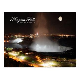 Niagara- Fallsnachtlichter Postkarte