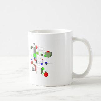 Niap abstrakt kaffeetasse