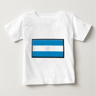 Nicaragua-Flagge Baby T-shirt